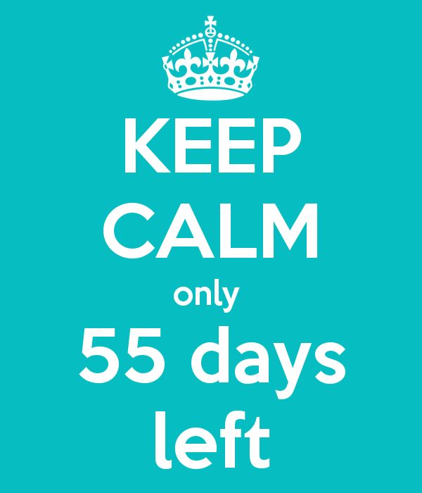 Image result for countdown 55 days